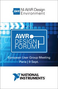 AWR Design Forum