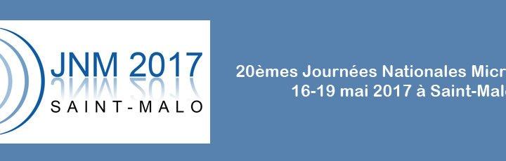 20èmes Journées Nationales Micro-Ondes