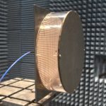 35GHz Folded Reflectarray antenna