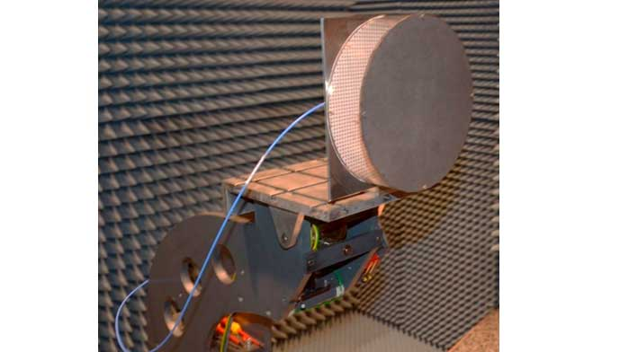 Folded Reflectarray antenna for radar applications at 35GHz