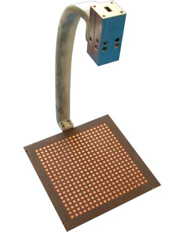 20×20 beam-scanning reflectarray operating @ 25 GHz