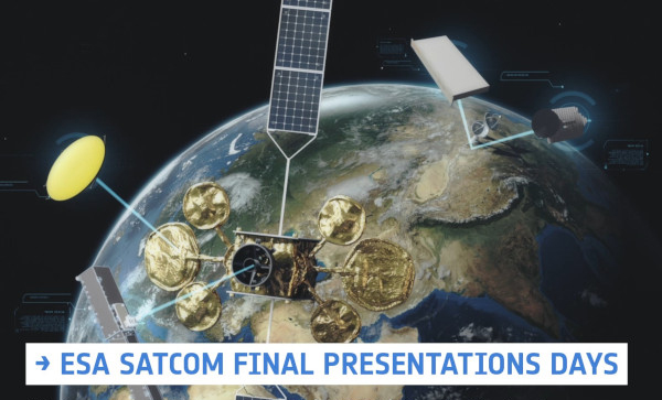 RF Microtech at ESA SatCom Final Presentation Days