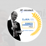 RF Microtech supports brilliant engineers with EuMA Roberto Sorrentino Prize